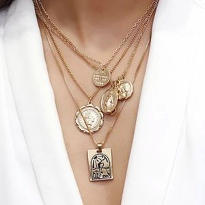 Jewelry - Multi Chain Coin Necklace